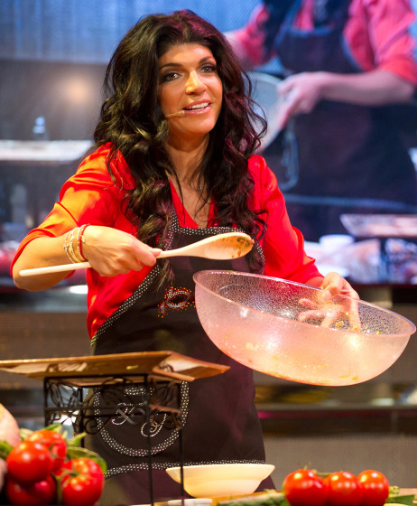 A Fabulicious Mother's Day and live recipe demonstration with The Real Housewives of New Jersey Teresa Giudice in Bensalem, PA